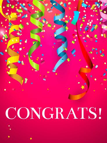 Big Celebration! Congratulations Card | Birthday ...