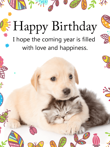Image Gallery Happy Birthday Dog Cards Happy Birthday Wishes Dogs