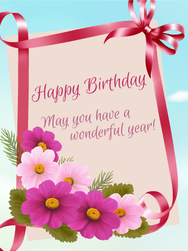 Birthday Flowers Greetings Same Day Flower Delivery