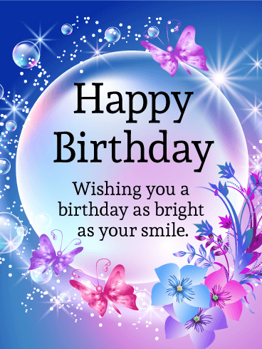 birthday card on line