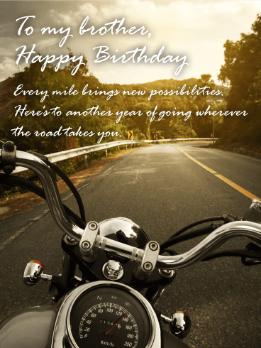 great journey happy birthday card brother birthday greeting cards davia