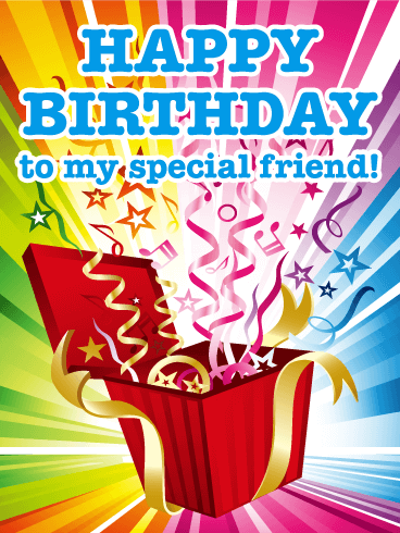 Surprise Happy Birthday Cards for Friends Birthday Greeting