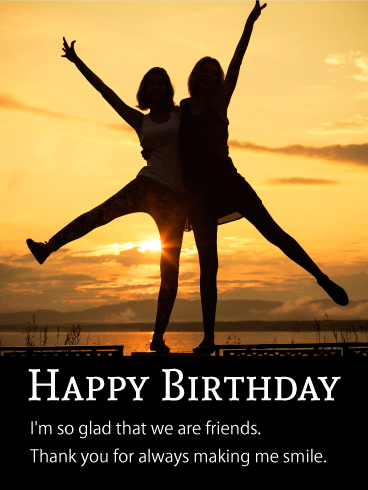 Two Best Girl S Friends Card Birthday Amp Greeting Cards