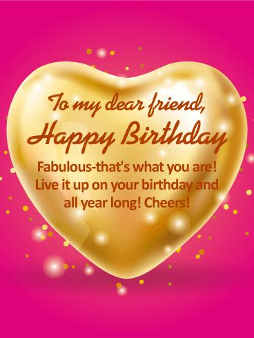 Enjoyable To My Dear Friend Happy Birthday Wishes Card Birthday Funny Birthday Cards Online Unhofree Goldxyz