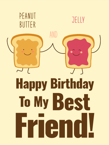 Happy b day cards for best friend