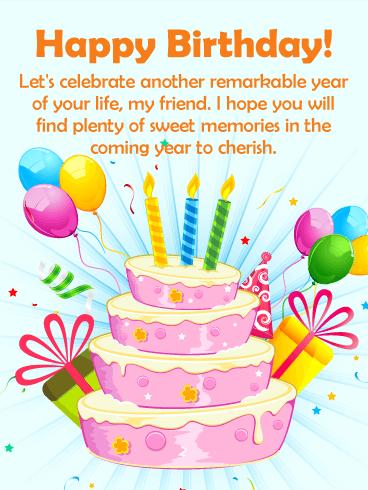 Happy Bday Best Strawberry Cake