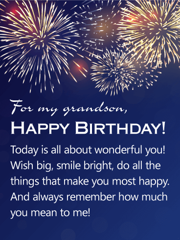 You Mean A Lot To Me Happy Birthday Wishes Card For