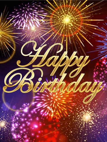 It's a Big Celebration! Happy Birthday Card   Birthday & Greeting Cards by Davia