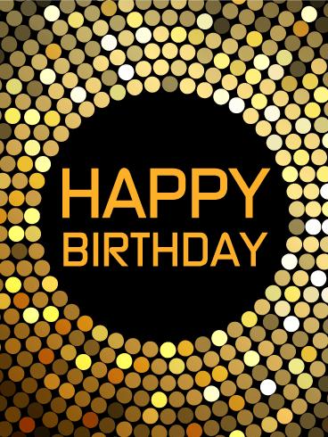 Lets Dance Happy Birthday Card Birthday amp Greeting