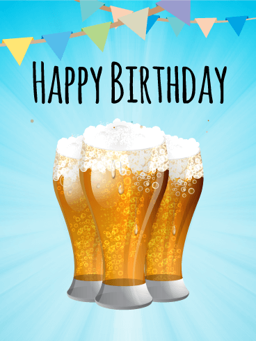 Happy Birthday Bilder Bier