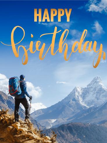 Feel The Air Happy Birthday Card Birthday Amp Greeting