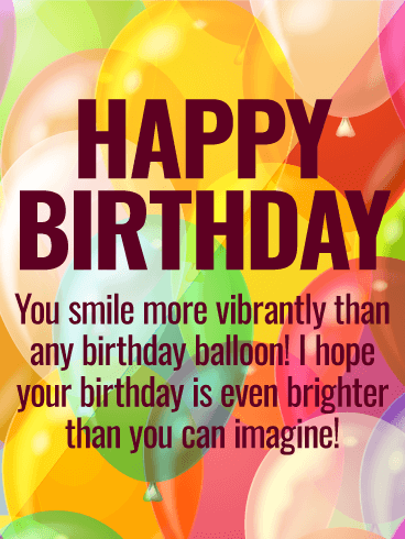 bright smile happy birthday wishes card birthday greeting cards davia