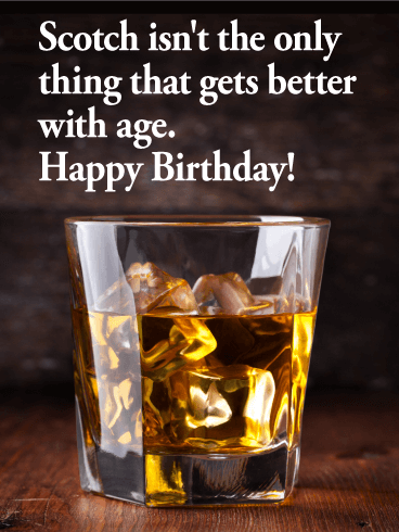 Scotch Prove Funny Birthday Card Birthday Amp Greeting