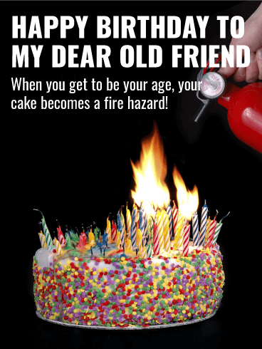Birthday Cake Fire Hazard