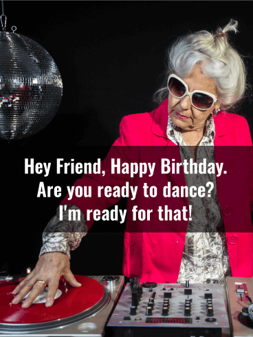 granny dj funny birthday card friends birthday greeting cards davia