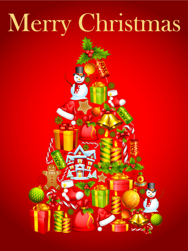 Bows Christmas Tree