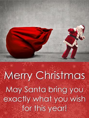 Saying For Christmas Cards