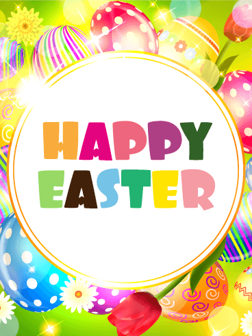 Fun & Pop Happy Easter Card | Birthday & Greeting Cards by ...