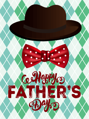 To a Father in Style - Happy Father's Day Card | Birthday ...