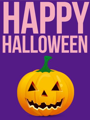 Cheerful Halloween Card | Birthday & Greeting Cards by Davia