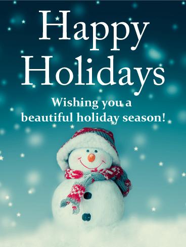 free season s greetings ecards