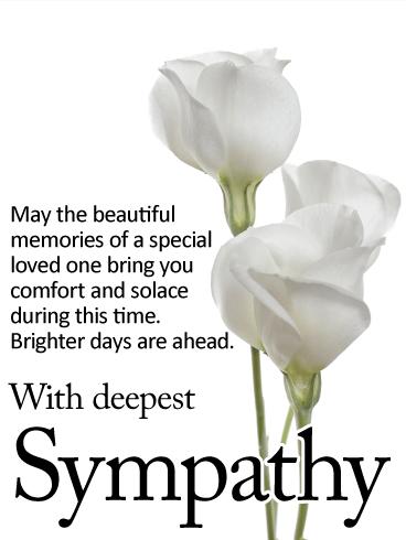 Deepest Condolences Messages